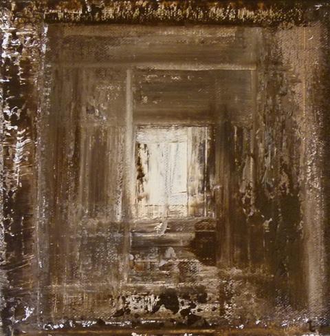 Acrylique 1 sur toile 20cm sur 20cm 2011