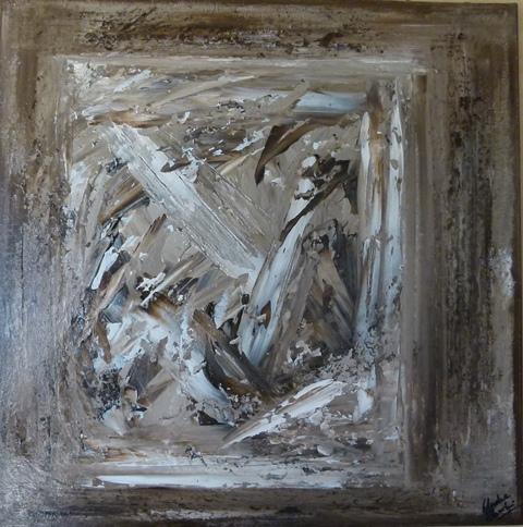 Acrylique sur toile 1 40cm sur 40cm 2011