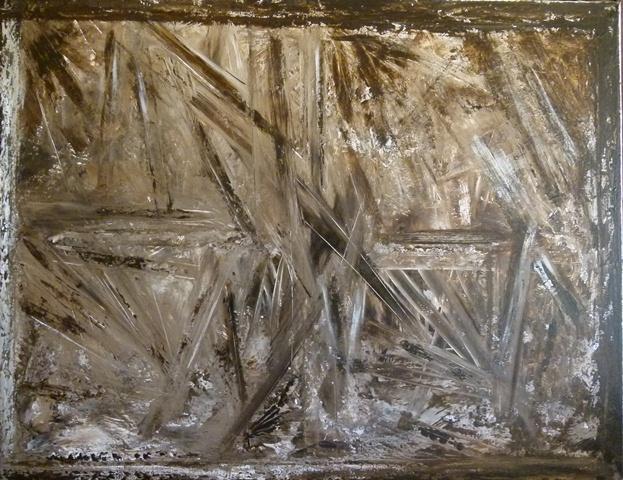 Acrylique sur toile 70cm sur 90cm Jouy 2011 Non disponible