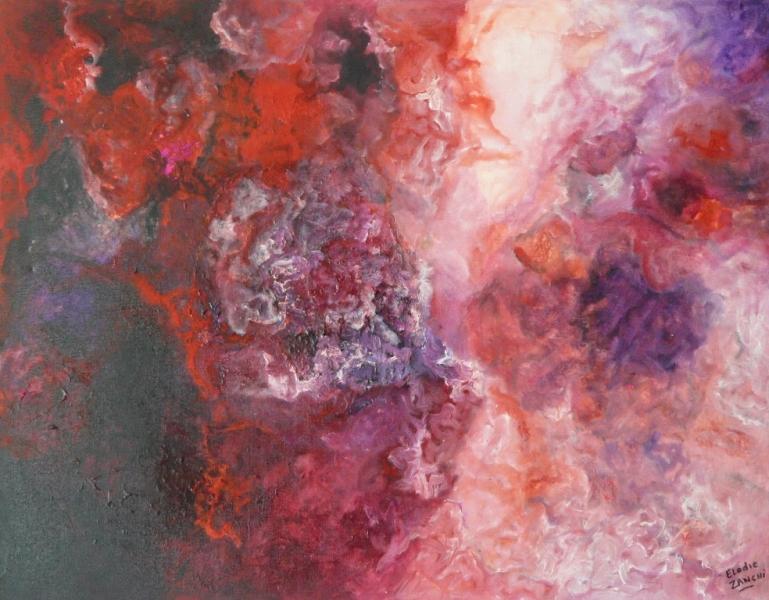Roseraie Acrylique 70cm/90cm Jouy 2002