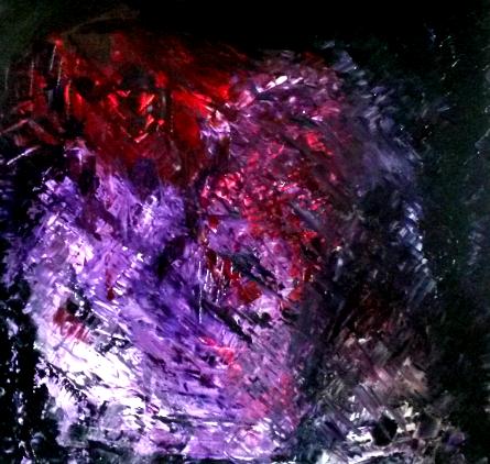 l ombre Huile sur toile 80 sur 100cm Paris 27 decembre 2014
