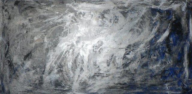 Tempete Acrylique 200cm sur 100cm Jouy 2013