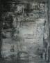 Argentée Acrylique sur toile 40cm sur 50