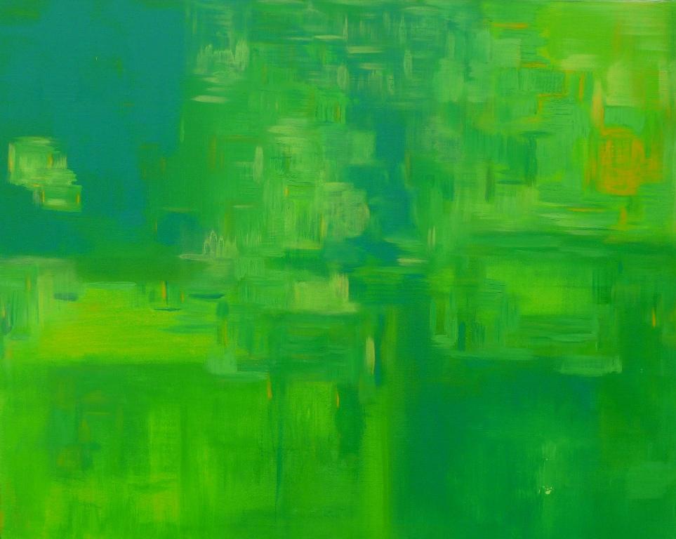 Amphibien. Acrylique 80cm/100cm 2010