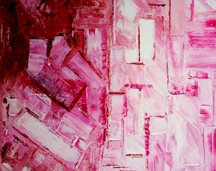 Rosée Huile sur toile 100cm81
